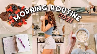 MORNING ROUTINE 2021 | Healthy & Productive Habits