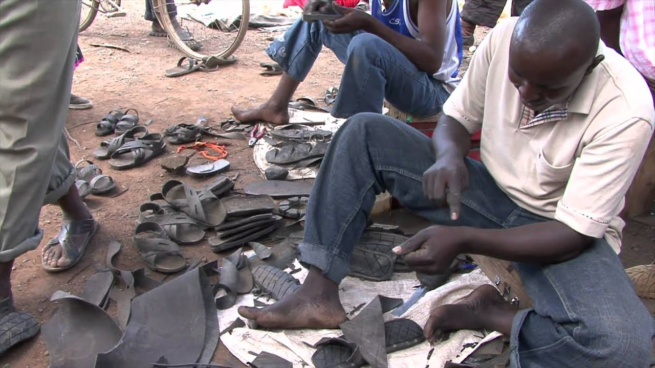 Charles Kabuphi Tyre Shoes Demonstration Youtube