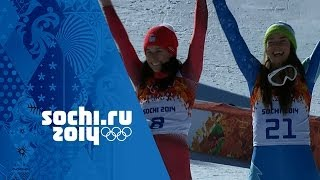 Alpine Skiing - Ladies' Downhill - Maze & Gisin Win Gold | Sochi 2014 Winter Olympics
