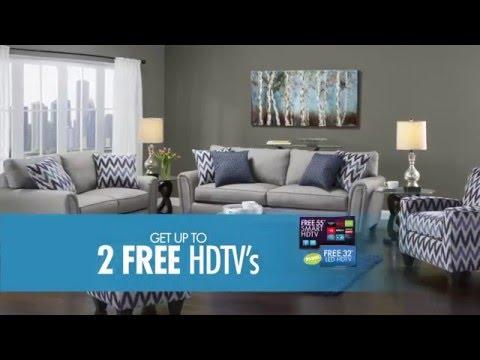 Get up to 2 Free HDTVs!