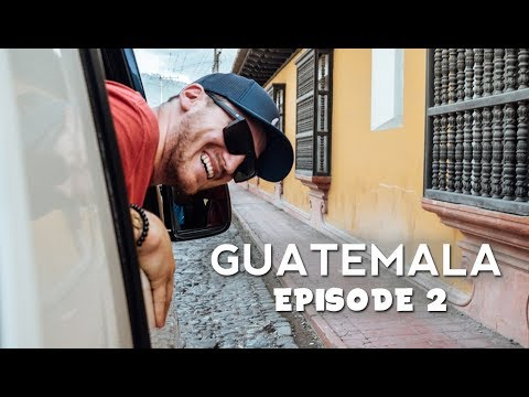 Road Trip Day! | Guatemala Travel Vlog | EP. 2
