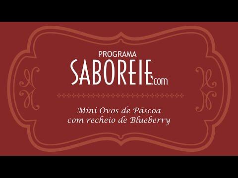 #SABOREIE MINI OVOS DE PÁSCOA BLUEBERRY
