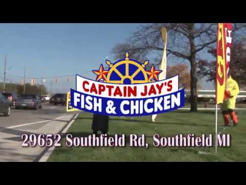 Captain Jay's Fish & Chicken SOUTHFIELD Grand Opening