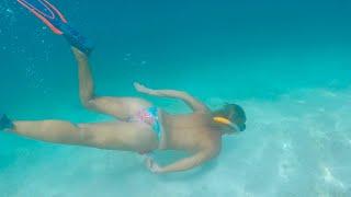 #swimmingfree #freelife Topless in San Blas. Sailing Ocean Fox Ep 89