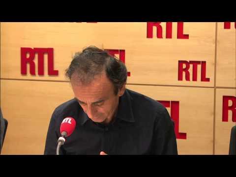 """Éric Zemmour : """"Une grève à la SNCF, c'est comme l'Histoire vue par Shakespeare"""" - RTL - RTL"""