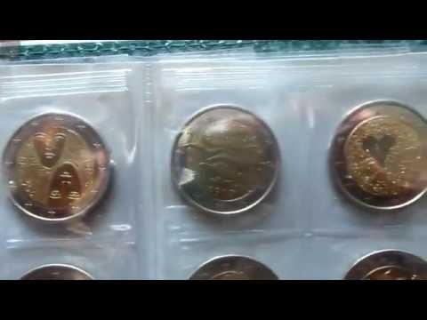 2 Euro Sondermünzen Sammlung Teil 1/3
