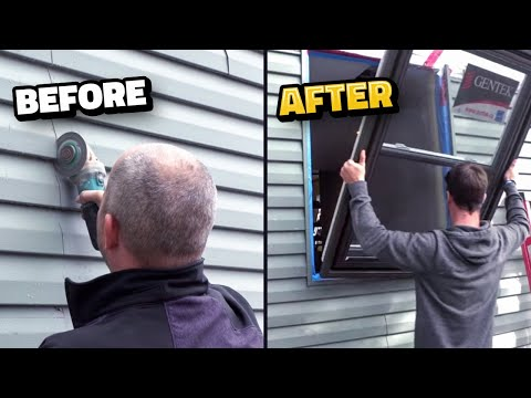How To Install A Window In A Wall