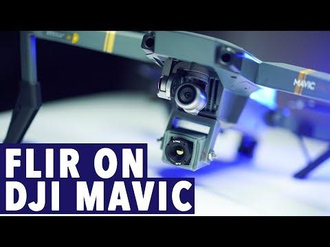 DJI Mavic FLIR Camera! THERMAL IMAGING SOLUTION KIT!
