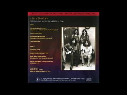 Led Zeppelin- Live in Boston, 1/25/1969