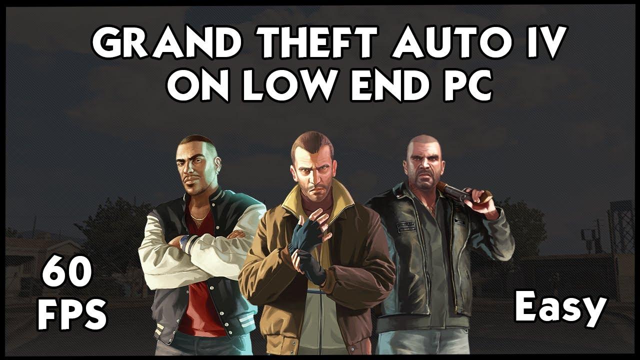 How To Run GTA 4/IV on Very Low End PC | 2017 | 2GB RAM | MODS & CMD Lines  | HiteshKS