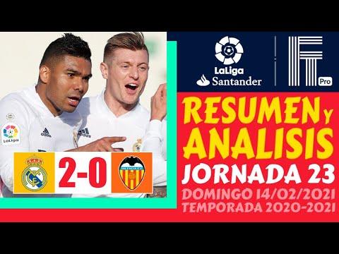 Real Madrid vs. Valencia - Reporte del Partido - 14 febrero, 2021 ...
