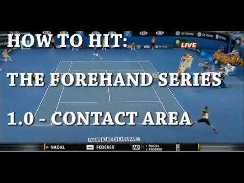How To Hit A Forehand 1.0 (Ft. Roger Federer, Serena Williams, Novak Djokovic)