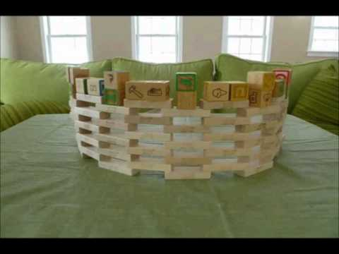 how to build large jenga blocks