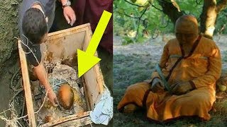 Buddhist Students Who Open Their Teacher's Grave Make A Discovery That Science Can't Explain