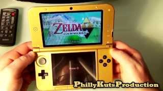 Zelda 3DS XL ALBW Setup and Overview