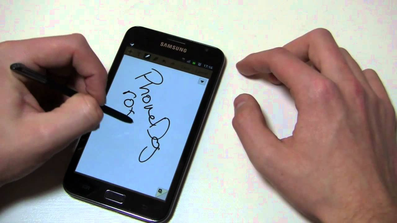 Samsung Galaxy Note Review Part 1 Youtube