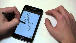 Samsung Galaxy Note Review Part 1