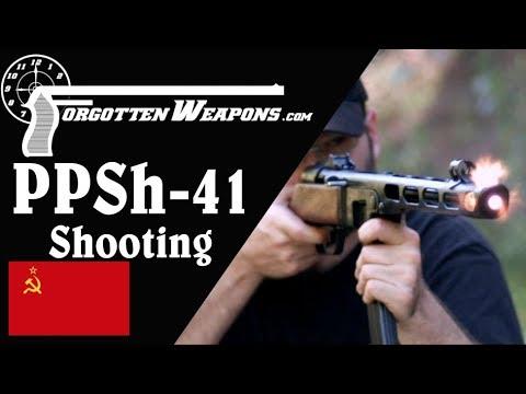 "The Iconic ""Burp Gun"" - Shooting the PPSh-41"