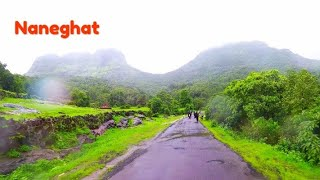 Bike Ride to naneghat 2018|reverse waterfall | Mumbai monsoons |