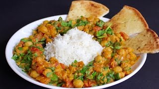 Chickpea Curry - Home Chef Recipe!