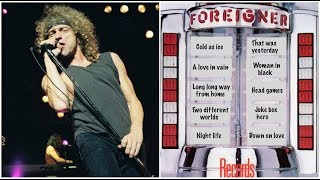 The Foreigner Albums - 10 Favorite Songs from the Jukebox