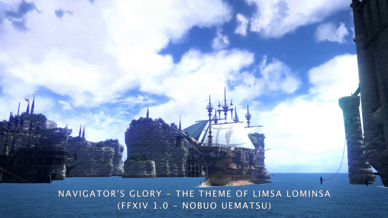 Navigator's Glory – The Theme of Limsa Lominsa Orchestrion Roll