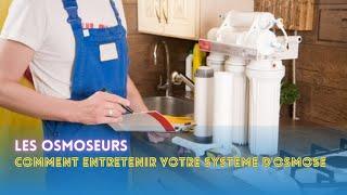 Tutoriel #27 maintenance sur l'osmoseur