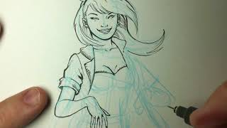 ANYONE CAN DRAW SQUIRREL GIRL!!   I