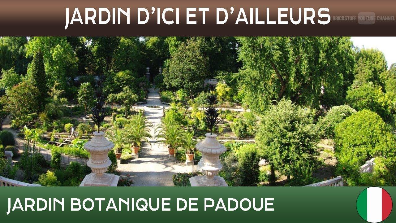 Jardins d 39 ici et d 39 ailleurs jardin botanique de padoue italie s t fran ais youtube - Jardins d ici et d ailleurs ...