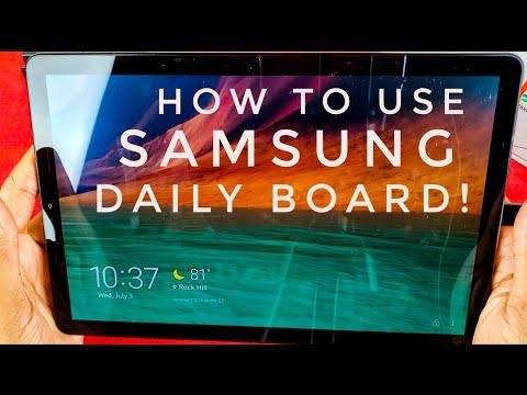 samsung-daily-board!