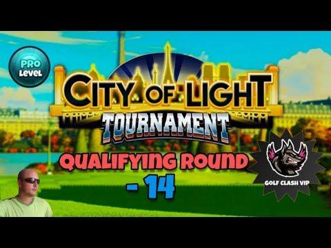 Golf Clash. Qualifying Round - 14, PRO Division. City Of Light Tournament! На русском.