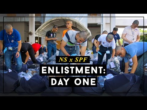 NS x SPF: Enlistment Day One