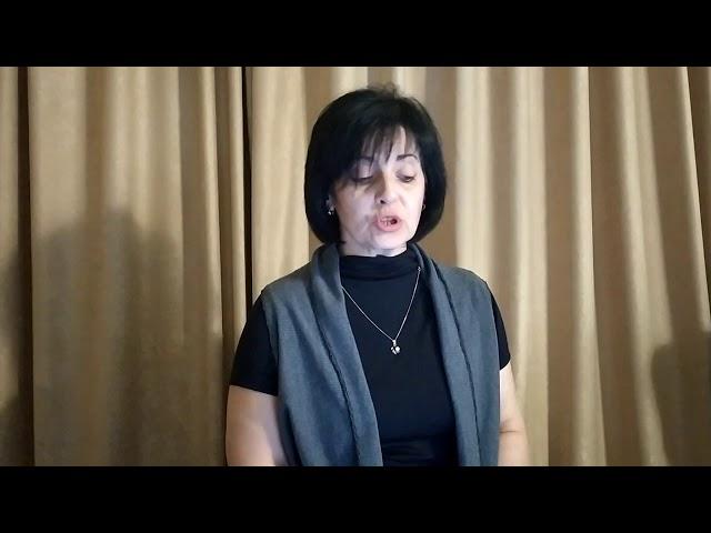 Изображение предпросмотра прочтения – ЛюдмилаДадоян читает отрывок изпроизведения «Девицы Чабловы» Н.В.Гоголя
