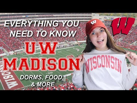 Everything You NEED To Know About UW-MADISON! (dorms, Food, Etc)