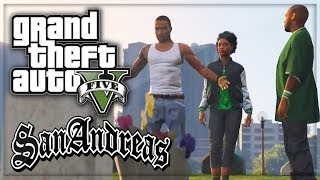 GTA 5 San Andreas REMAKE! (GTA SA Storyline IN GTA 5!)