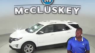 190731 New 2019 Chevrolet Equinox SUV White Test Drive, Review, For Sale -