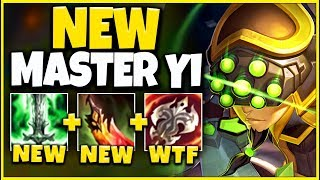 *REWORKED* THIS REWORK BROKE MASTER YI (LEGIT 1V9 MONSTER) - League of Legends