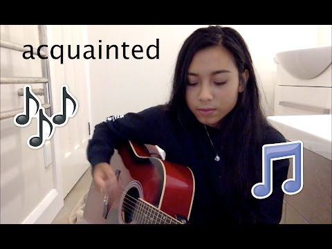 Acquainted - The Weeknd (Cover by Aleisha Amohia)