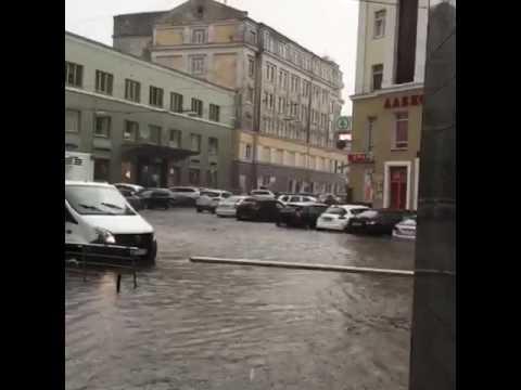 Потоп в Нижнем Новгороде 06.07.17