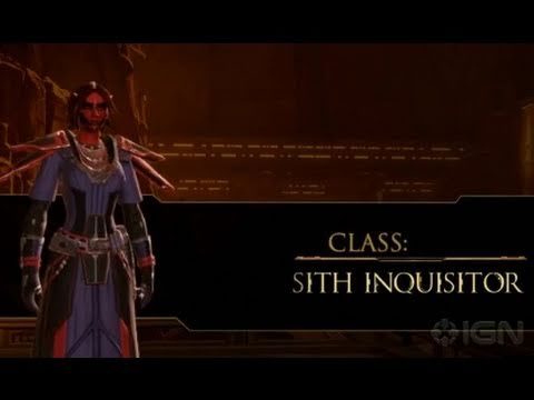 Star Wars: The Old Republic - Official Sith Inquisitor Trailer