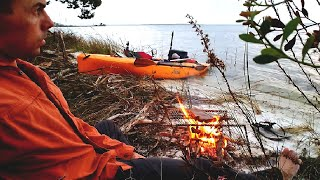 Against the Wind - Kayak Camping Takes a Turn