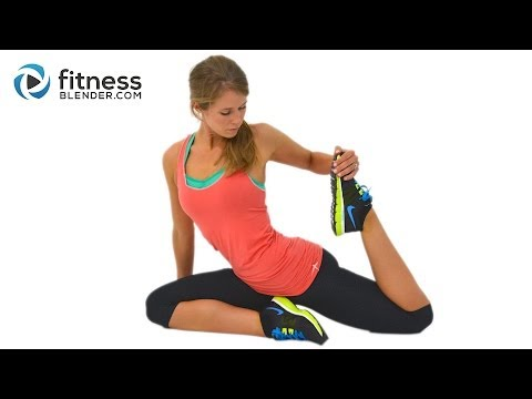 Quick Yoga Cool Down and Stretch Cool Down Stretches
