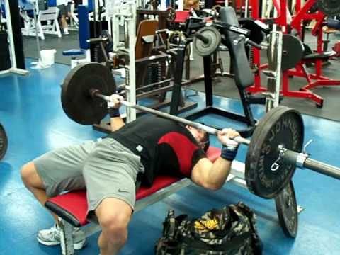 225 Lbs X 54 Reps Record Breaking Barbell Bench Press At Only 211