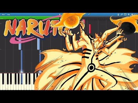 Naruto Shippuden - Opening 16『 Silhouette - Kana Boon 』 (Piano Tutorial) [Synthesia] + MIDI
