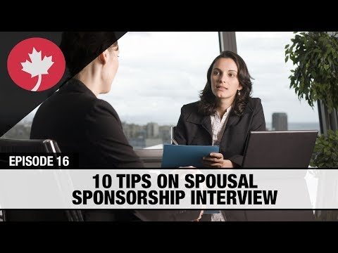 What To Expect From A Canadian Spousal Sponsorship Interview?