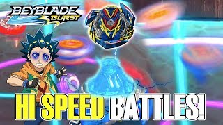 How I turned Volcanic into a BEYBLADE Challenge HIGH SPEED!