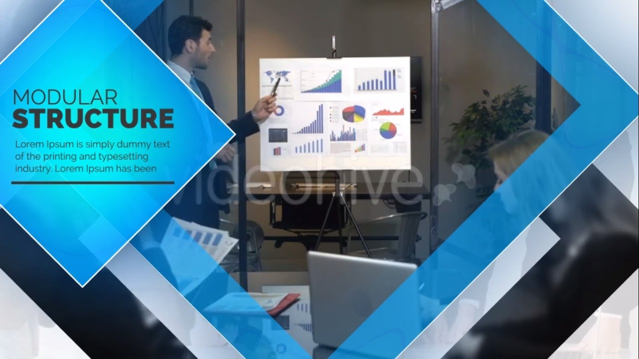 Video company profile template after effects template for Company profile after effects templates free download