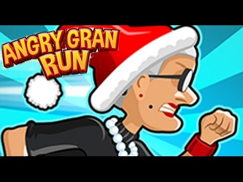 Angry Gran Run Christmas Full Gameplay Walkthrough