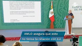 El presidente López Obrador detalló que la Embajada de Estados Unidos en México, a través de la USAID, ha financiado al menos durante los cuatro años recientes a Mexicanos Contra la Corrupción y la Impunidad