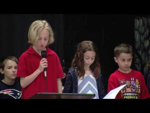 Crescent Lake School Memorial Day Ceremony 5/26/2017